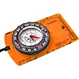Orienteering Compass - Hiking Backpacking Compass - Advanced Scout Compass for Camping and Navigation - Boy Scout Compass Kid