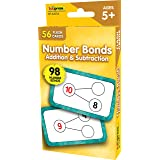 Teacher Created Resources Number Bonds Flash Cards - Addition and Subtraction