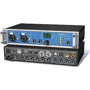 RME アールエムイー Fireface UCX 18チャンネル 24ビット/192kHz USB&FireWire オーディオインターフェイス 【国内正規品】