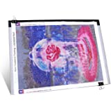 Diamond Painting A3 Dimmable Light Pad with 3 Level Brightness LED Tablet Bright Light Pad Light Box Apply to 5D Diamond Pain