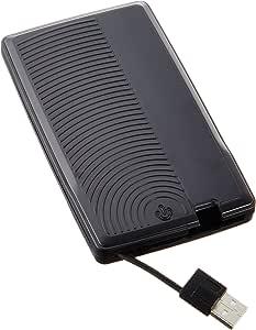 玄人志向 SSD/HDDケース 2.5型対応 USB2.0接続 ケーブルを本体収納可能/安心&安全の専用ポーチ付き GW2.5SC-SU2