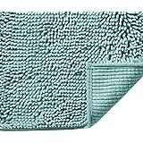 H.VERSAILTEX Microfiber Bath Rugs Chenille Floor Mat Ultra Soft Washable Bathroom Dry Fast Water Absorbent Bedroom Area Rugs,