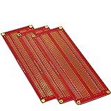 Gikfun Large Solder-able Breadboard Gold Plated Finish Proto Board PCB DIY Kit for Arduino GK1008
