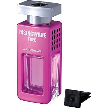 セイワ(SEIWA) 車用 芳香剤 ライジングウェーブ ライジングウェーブ クルマ用芳香剤 エアコン取り付け型 フリーサンセットピンク (ピーチとほのかな石鹸の香り) 7ml RW05