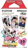 FUJIFILM インスタントカメラ チェキ用フィルム10枚入 絵柄 (ミッキー&フレンズ) INSTAX MINI MIC WW 1
