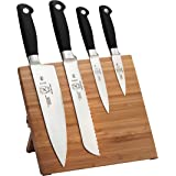 Mercer Culinary 5-Piece Genesis Magnetic Board Set, Bamboo