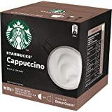 Starbucks Cappuccino by NESCAFE Dolce Gusto Coffee Pods, Box of 12 Capsules, 120g (6 Serves)
