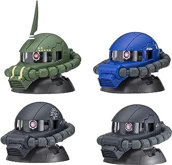 機動戦士ガンダムEXCEED MODEL ZAKU HEAD 4(BOX) 9個入