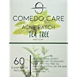 Acne Pimple Patch (60 clear patches), Hydrocolloid and Tea Tree Oil Absorbing and Concealing Patches for Face, Zits, Pimples