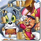 Tom and Jerry 11.8'' 壁時計(トムとジェリー )あなたの友人のための最高の贈り物。あなたの家のためのオリジナルデザイン