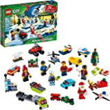 LEGO City Advent Calendar 60268 Playset, Includes 6 LEGO City Adventures TV Series Characters, Miniature Builds, City Play Ma