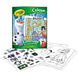 CRAYOLA 1447914 Color & Sticker Book Frozen 2 Coloring Book