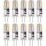 Mini LED Bulb, Service Life 50000H 24LED 1.2W 150LM G4 LED Bulbs, for Chandelier, Ceiling Lamp Ceiling Fan Lamp,Cabinet Lamp