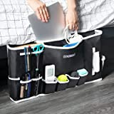 "GINIMAX Dorm Room Essentials - Bedside Caddy | Large Size 23""x12"" | Under Couch Mattress | Bedside Storage Organizer for TV R"