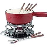 Swissmar KF-66517 Cheese Fondue Set, Cherry Red 2 Quart