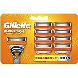 ジレット フュージョン5+1 マニュアル 髭剃り カミソリ 男性 8個 (x 1)