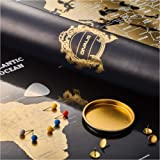 Scratch Off World Map - Extra Large - Black and Gold Scratchable World Map Poster - Best Travel World Map Gift - All Accessor