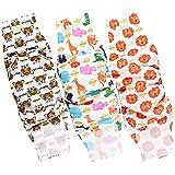 Wegreeco Washable Male Dog Belly Band Pattern- Pack of 3 - Washable Male Dog Belly Wrap, Dog Diapers Male (S, Magic)