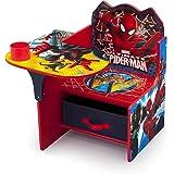 Delta Children Chair Desk with Storage, Marvel Spider-Man