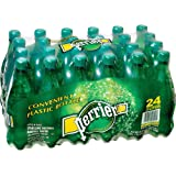 Perrier Mineral Water, .5 Liter, Portable Plastic Bottles, 24/CT, GN