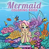 Mermaid Coloring Book: For Kids Ages 4-8, 9-12 (8)