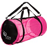 LISH Mesh Dive Bag - XL Multi-Purpose Equipment Diving Duffle Gear Tote, Ideal for Scuba, Snorkeling, Surfing and More
