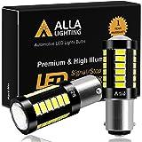 Alla Lighting 2800lm 7528 1157 LED White LED Bulbs Xtreme Super Bright BAY15D 2057 1157 LED Bulb 5730 33-SMD LED 1157 Bulb fo