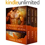 Twice Upon a Desert Moon: Three Book Collection - Volume 2 (The Wolves of Twin Moon Ranch)