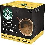 Starbucks Veranda Blend by NESCAFE Dolce Gusto Blonde Roast Coffee Pods, Box of 12 Capsules, 102g (12 Serves)