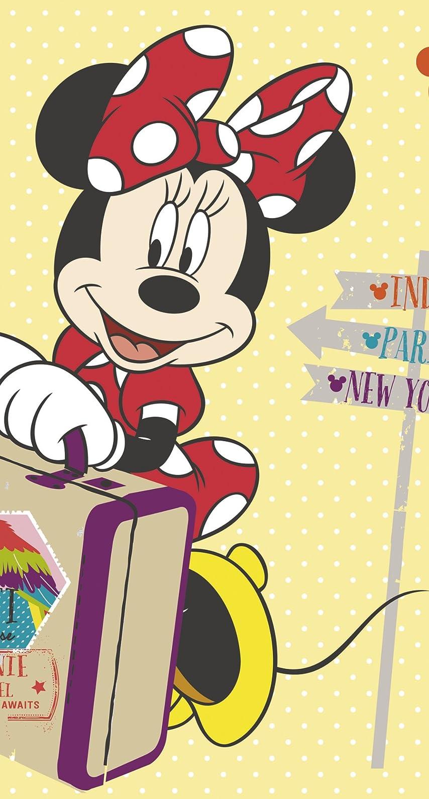 ディズニー ミニーマウス iPhone8/7/6s/6 壁紙 視差効果 画像38768 スマポ