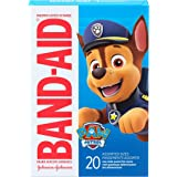 Band-Aid Brand Adhesive Bandages for Minor Cuts & Scrapes, Wound Care Featuring Nickelodeon Paw Patrol Characters for Kids an