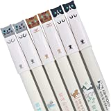 12 Pieces Cute Cat Pen Gel Pens Black Ball Point Pens for School Office Supplies Style 3 Cat Pens
