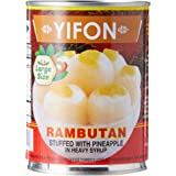 Yifon Rambutan Stuffed With Pineapple Can, 565g