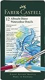 ファーバーカステル アルブレヒト デューラ水彩色鉛筆 12色 缶入117512 [日本正規品]