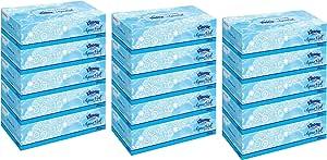 (まとめ買い)クリネックス ティシュー アクアヴェール 360枚(180組) 5箱x3個セット