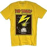 Merch Direct Bad Brains Men's Capitol T-Shirt Yellow