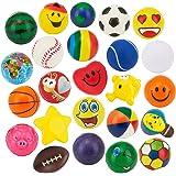 "24 Stress Balls - Bulk Pack of 2.5"" Stress Balls - Treasure Box Classroom Prizes, Party Favors, Or Just to De-Stress (2 Dozen"