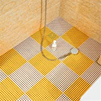 QD-SGMP お風呂マット 滑り止め バスマット 防カビ 浴室マット すのこ 洗い場マット 浴槽マット 大判 転倒防止…
