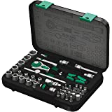 "Wera 8100 SA 2 Zyklop 1/4"" Metric Ratchet Set, 41-Pieces"