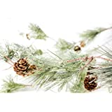 CraftMore Smokey Pine Garland 6 Feet