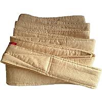 昔ながらのおんぶ紐 一本 紐 サイズL 細め(長さ約5m、幅6cm)生成り 綿100% 日本製 首がすわった頃から使用可…