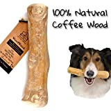 Pet Full House WoofWood Dog chew Sticks, Safe, Natural & Healthy chew Toys, Real Coffee Wood, Long Lasting, Durable chewable