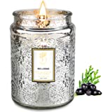 Candle for Home Scented 18 oz Large Aromatherapy Candle with Glass Jar, 100 Hours Lasting Highly Scented Soy Candle for Home