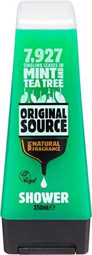 Original Source Body Wash, Mint and Tea Tree, 250ml (packaging may vary)