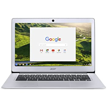 Acer Chromebook 14, Aluminum, 14-inch Full HD, Intel Celeron Quad-Core N3160, 4GB LPDDR3, 32GB, Chrome, CB3-431-C5FM(US Version imported by uShopMall U.S.A.)