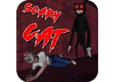 Scary Cartoon Killer Cat Horror