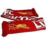 リバプール フットボールクラブ Liverpool FC オフィシャル商品 フットボールスカーフ マフラー