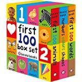 First 100 Board Book Box Set x3 Books