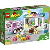 LEGO DUPLO Town Bakery 10928 Educational Play Café Toy for Toddlers, Great  Kids Ages 2 and Over
