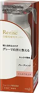 リライズ 白髪染め グレーアレンジ (自然なグレー) ふんわり仕上げ 男女兼用 本体 155g